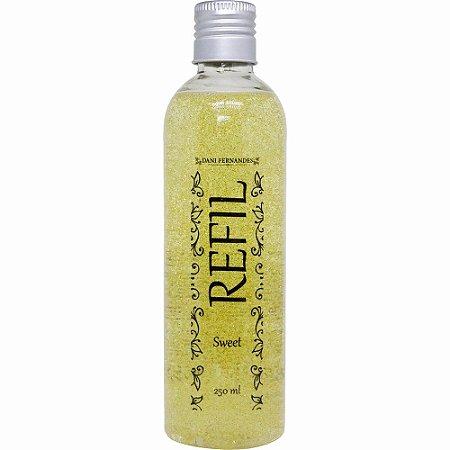 Refil sabonete líquido Dani Fernandes sweet glitter 250 ml