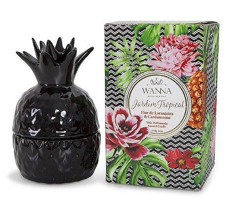 Vela perfumada Wanna flor de laranjeira e cardamomo abacaxi 170 g