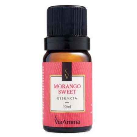 Essência concentrada Via Aroma morango sweet 10 ml