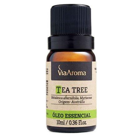Óleo essencial Via Aroma tea tree (melaleuca) 10 ml