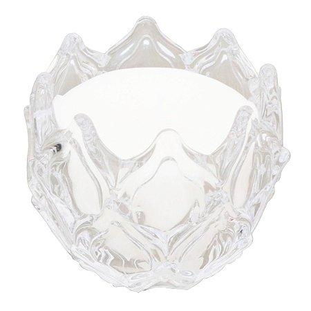 Vela perfumada Guenther em vidro de folhas Alecrim