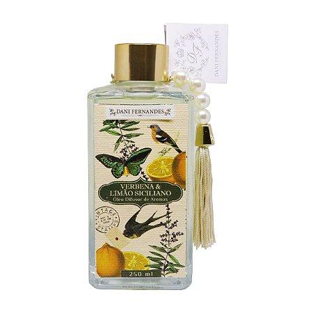 Difusor de aromas Dani Fernandes verbena e limão siciliano secret garden 250 ml