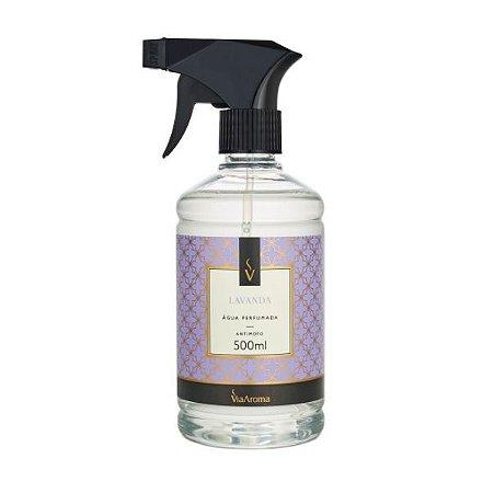 Água perfumada Via Aroma lavanda 500 ml