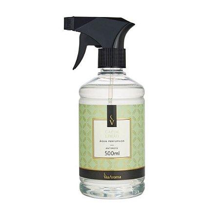 Água perfumada Via Aroma capim limão 500 ml