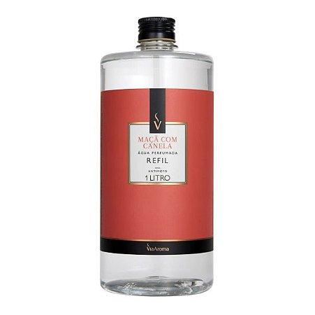Refil água perfumada Via Aroma maçã com canela 1 L