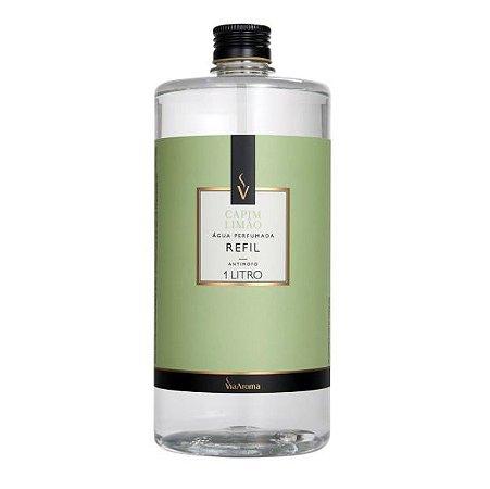 Refil água perfumada Via Aroma capim limão 1 L