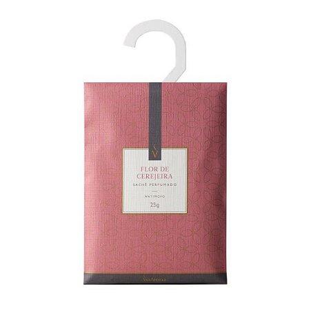 Sachê perfumado Via Aroma flor de cerejeira 25 g
