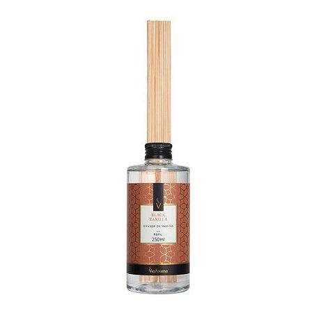 Refil difusor de aromas Via Aroma black vanilla 250 ml