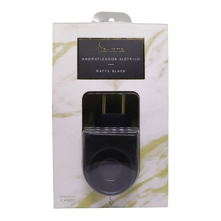 Aromatizador elétrico Via Aroma matte black porcelana