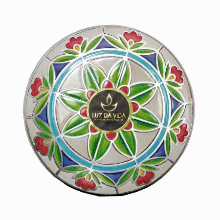 Vela perfumada Luz da Vida argan Marrocos flores 300g