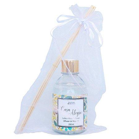 Difusor de aromas Boutique de Aromas lichia com flores do campo 250 ml