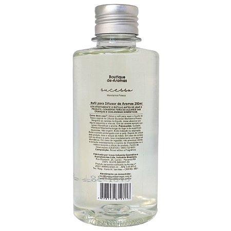 Refil difusor de aromas Boutique de Aromas mandarina fresca sucesso