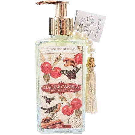 Sabonete líquido Dani Fernandes maçã e canela secret garden 250 ml
