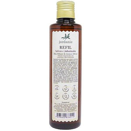 Refil difusor de aromas Jordanie salvia e jabuticaba 200 ml