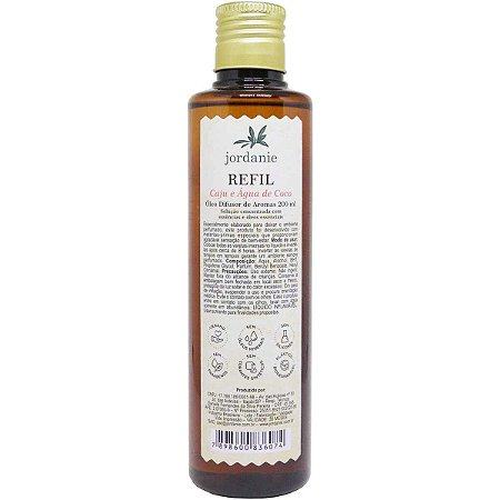 Refil difusor de aromas Jordanie caju e água de coco 200 ml