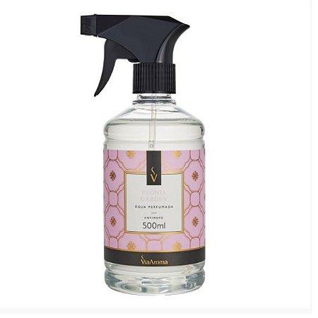 Água perfumada Via Aroma peônia garden 500 ml