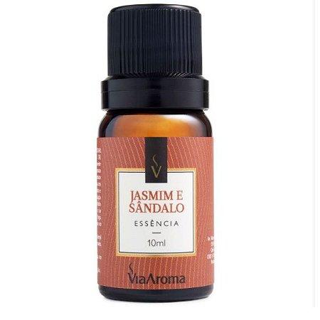 Essência concentrada Via Aroma jasmim e sândalo 10 ml
