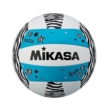 Bola de Vôlei de Praia Mikasa VXS ZB - Azul - Padrão FIVB