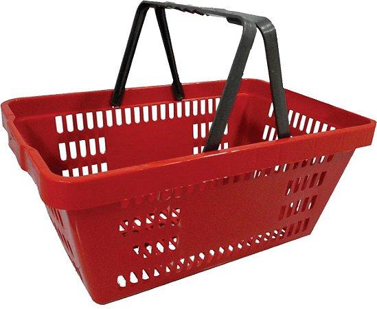 Cesto de Compras Plástico Embalagem com 10 peças - Amapá
