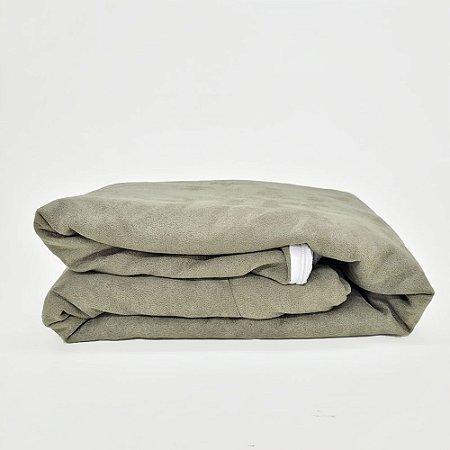 Capa Para Colchão Casal- Duede Verde com Ziper