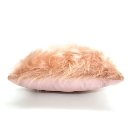 Capa para Almofada 43 x 43 cm Pelo Rosa Belchior