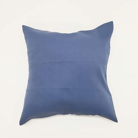 Capa para Almofada 45 x 45cm Tecido Azul Bellestar