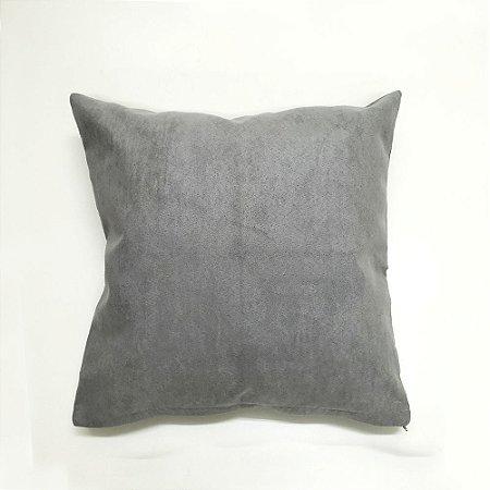 Capa para Almofada Arabesco 40 x 40 cm Cinza Bellestar