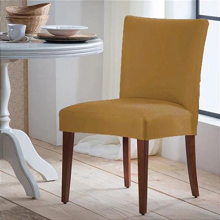 Capa para Cadeira Universal 100% Poliéster Cobre Arte Cazza