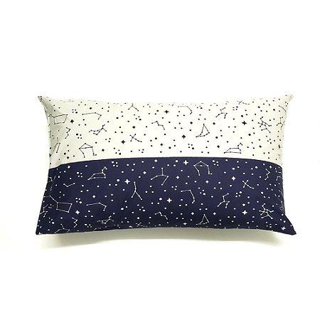 Fronha Avulsa 50 x 70 cm 100% Algodão Constelação Azul Bellestar
