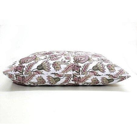 Fronha Avulsa 50 x 70 cm 100% Algodão Floral Camesa