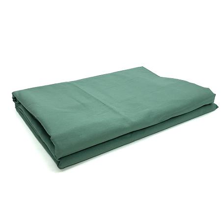 Lençol Avulso Queen Premium 100% algodão Percal Verde Estamparia