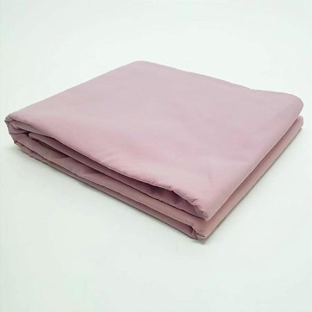 Lençol Avulso Solteiro 100% algodão Percal Rosa Estamparia