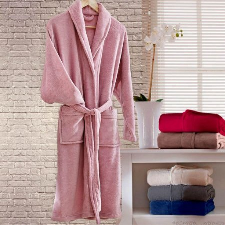 Roupão G Home Design Rosa Corttex