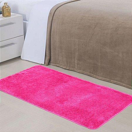 Tapete 0,50 x 1,00 m Apolo Pink Prata Têxtil