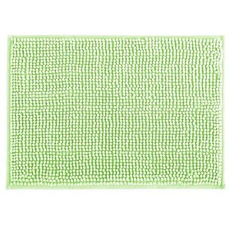 Tapete Banheiro 40x60cm Dallas Microfibra Verde Claro