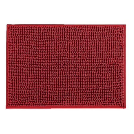 Tapete Banheiro 40x60cm Dallas Microfibra Vermelho