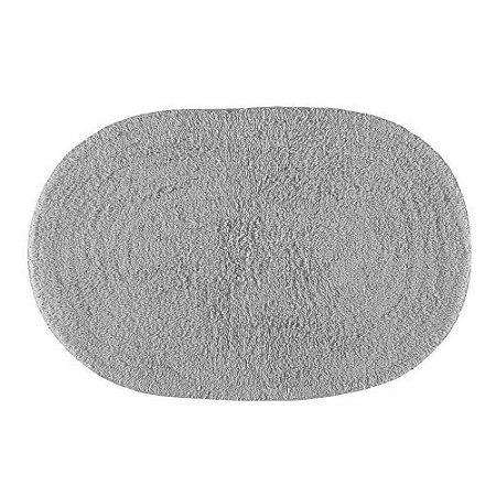 Tapete Banheiro 40 x 60 cm Missy Cinza Corttex