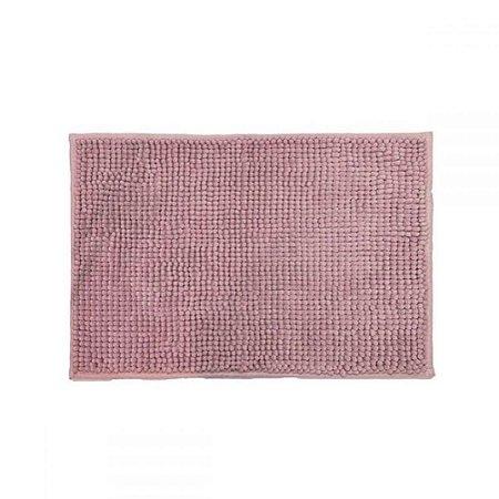 Tapete Banheiro 40 x 60 cm Pop Corn Rose Camesa