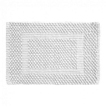 Tapete Banheiro 40 x 60 cm Soft 100% Algodão Marshmallow Tamir