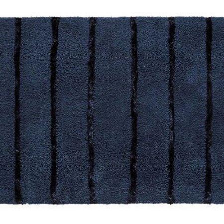 Tapete de Banheiro Bali 50 x 70 cm Azul Corttex