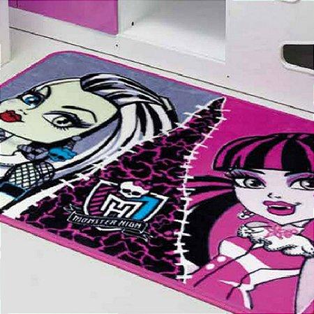 Tapete Infantil 80 x 120 cm Monster High Dupla Jolitex