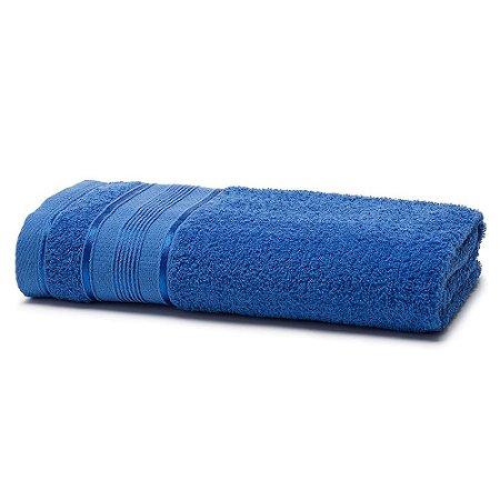 Toalha Banho 70 x 130 cm Royal 100% Algodão Azul Santista
