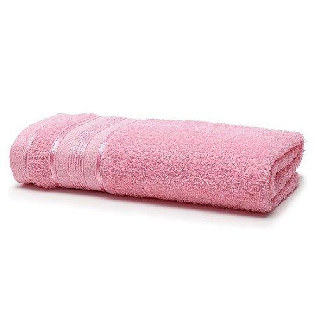Toalha Banho 70 x 130 cm Royal 100% Algodão Rosa Santista