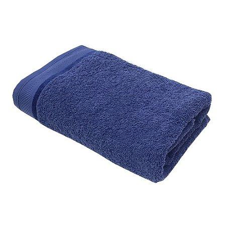 Toalha Banho 75 x 140 cm 100% algodão Eleganz Azul Lm Peter