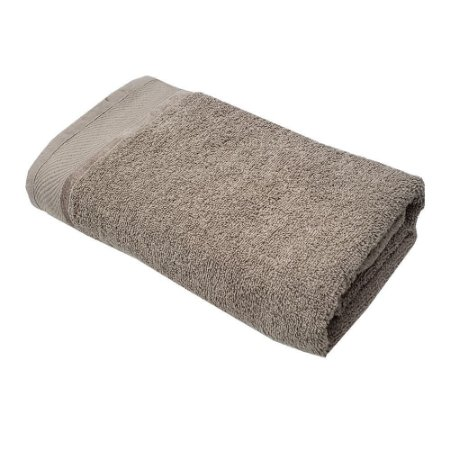 Toalha Banho 75 x 140 cm 100% algodão Eleganz Bege Lm Peter