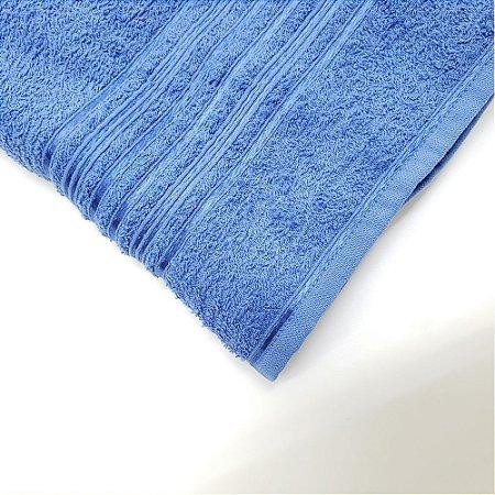 Toalha de Banho 62 x 130 cm Lyra Azul Camesa