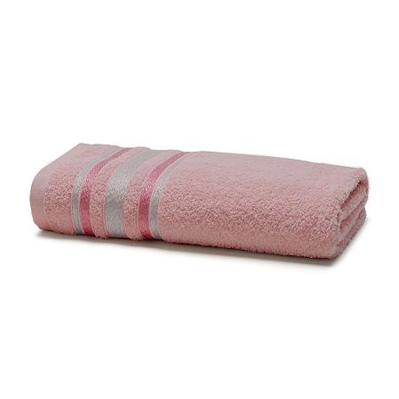 Toalha de Banho 70 x 135 cm Prata 100% Algodão Serena Rose Santista