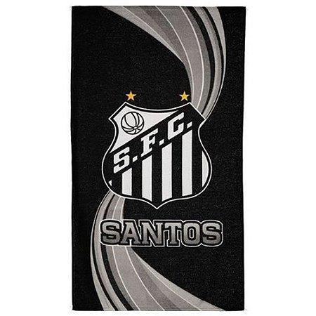 Toalha De Banho Piscina Veludo Oficial Santos Buettner
