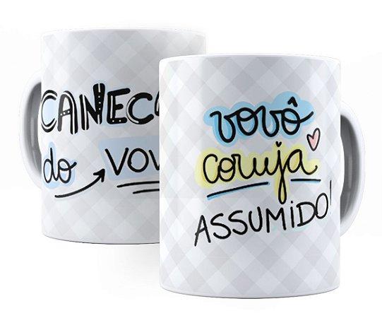 Caneca Do Vovô (Vovô Coruja Assumido!)