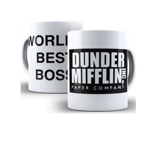 Caneca The Office Série The Worlds Best Boss